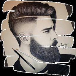 barba tumblr dibujo beard drawing freetoedit scbeard
