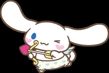cinnamoroll sanrio cute cupid arrow freetoedit