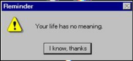 reminder error yourlifehasnomeaning sad depressed freetoedit