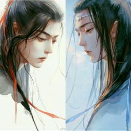 xiaozhan zhan wangyibo yibo tiêu_chiến freetoedit
