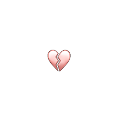 emoji sticker heartbreak heartsticker brokenheart freetoedit