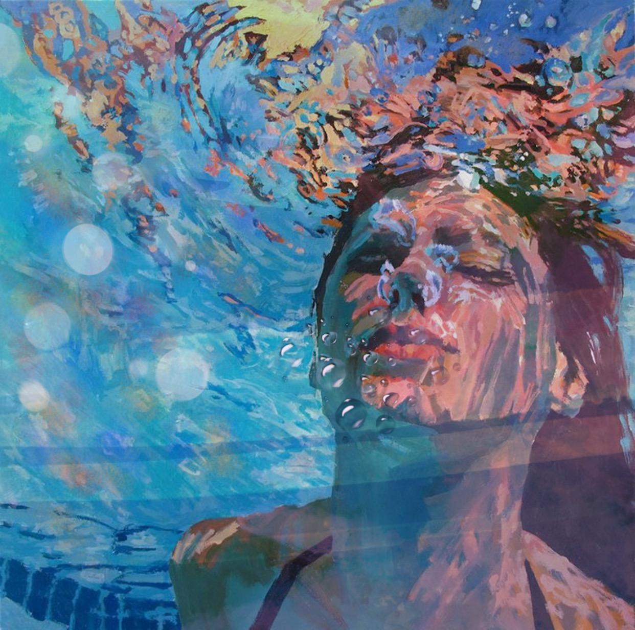 underwater paintings artwork - 800×794