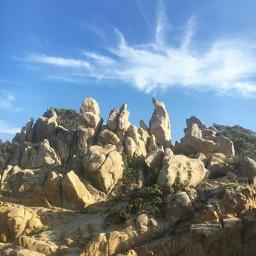 freetoedit rocce cielo natura pietre