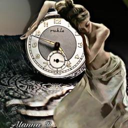 freetoedit blackandwhite clock