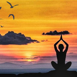 freetoedit sunset meditation silence nature