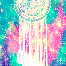 freetoedit glitter sparkle galaxy dreamcatcher