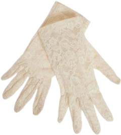 gloves lace victorian 1950s 1940s freetoedit