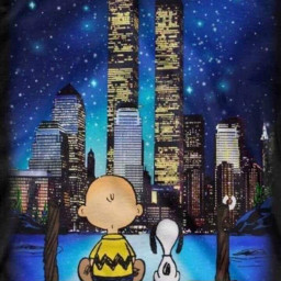freetoedit flag snoopy charliebrown twintowers