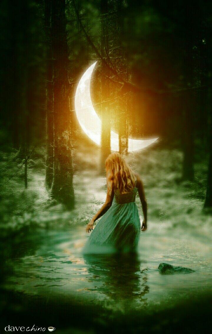 #darkforest #moon #girl #water @freetoedit @picsart #conseptual #madewithpicsart #surreal #surrealism #surrealistic #be_creative #myart #myedit