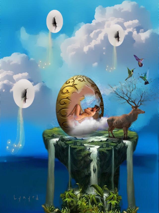 #freetoedit #sleeping #dreaming #fantasyart #myedit #myart #mystyle #madewithpicsart #awesomestickers