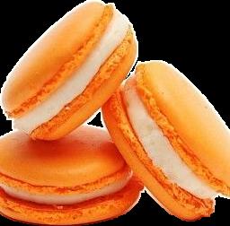 macaroons orange macarons macaron macaroon freetoedit scorange