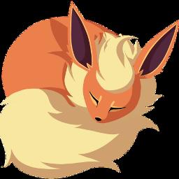scorange orange pokemon flareon fox freetoedit