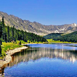 freetoedit nature lakes mountains forest scenic