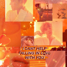 freetoedit sope cute orange aesthetic