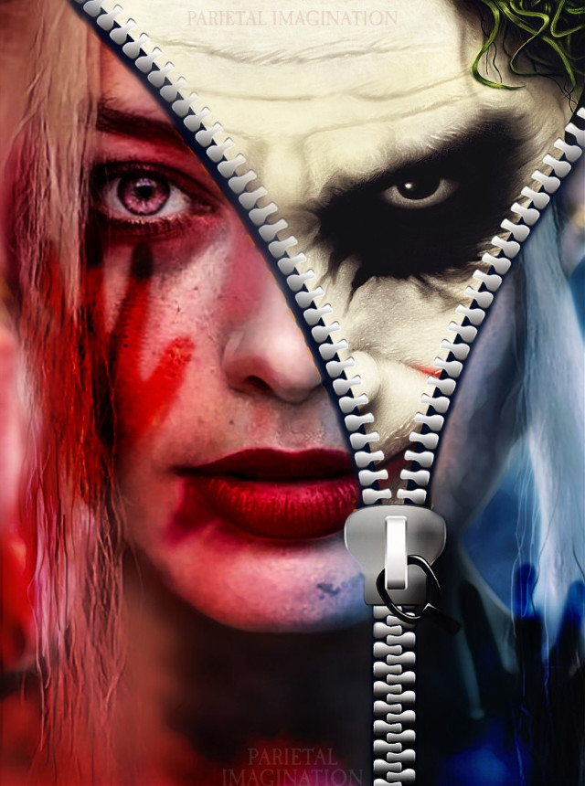 VOTING LINK: https://picsart.com/i/306021637233201?challenge_id=5d7a2bb52787140956498767 Edit by: Parietal  Imagination Art  @pa #harleyquinn #joker #thedemoninside #zipper #magicfx #fx #hue #adjust #blur #vip #madewithpicsart #parietalimagination #margotrobbie #heathledger  #remixzipper #freetoedit #srcremixzipper @pann70 💗💗💗💗💗