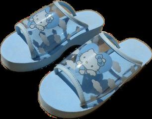blue shoes shoe slides feet freetoedit
