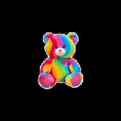 lgbt rainbow bear red heart freetoedit