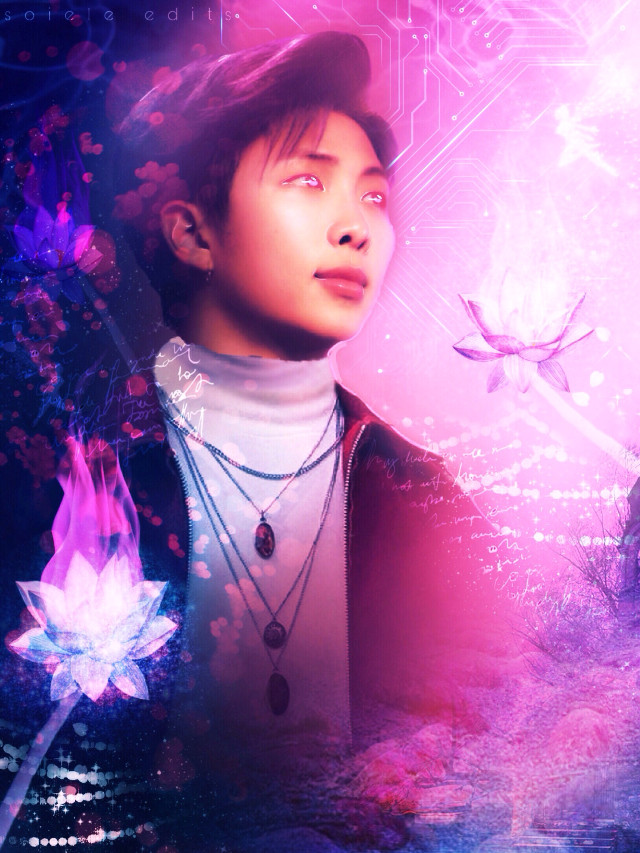 lol what is this joonie 2/2 though going to delete the other one, so for a second time happy late birthday 💞💞  #btsnamjoon #happynamjoonday #namjoon #bts #btsedit #kpop #kpopedit #aesthetic #vibrant #fantasy #pink #blue  Credit to ->