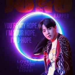 freetoedit jhope hoseok kpopedit idol BTS