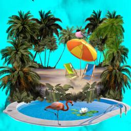 summer islandlife fairytale fantasyart imagination freetoedit