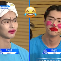 freetoedit producex101 funnyface