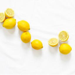 food yellow lemon lemons freetoedit