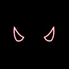 freetoedit horns hat devil red
