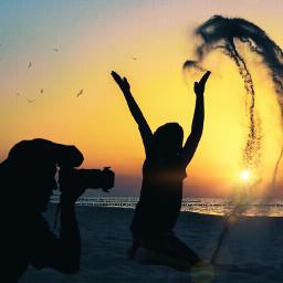 keepitsimple123 vipshoutout goldenhour beachsunset inmotion freetoedit