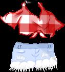 cuteredwhitepatternclothes freetoedit