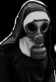 nun apocalipse future gasmask edgy freetoedit