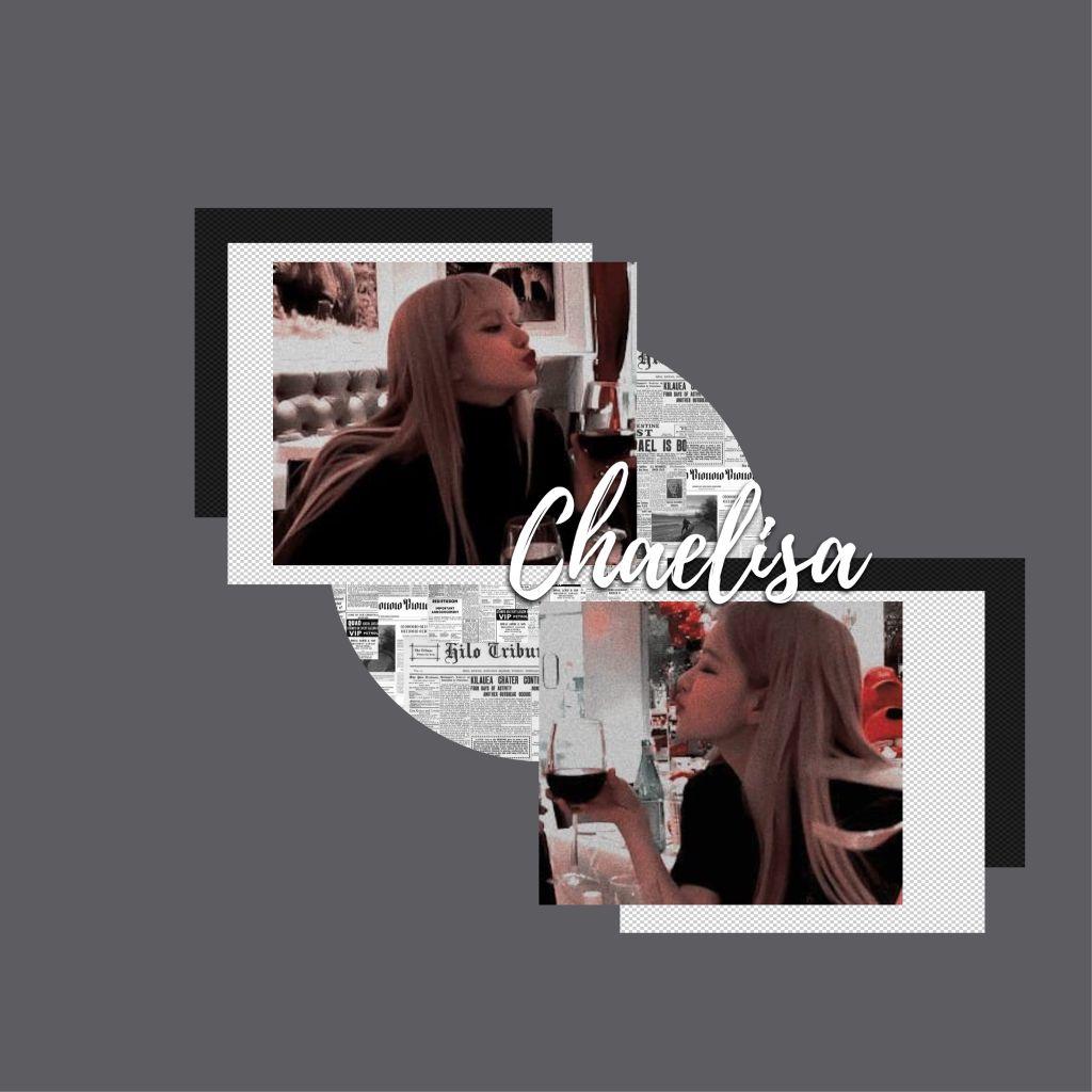 #chaelisa #blackpink 🖤💖 #freetoedit