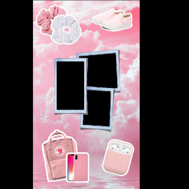 #freetoedit #funimate #funimatesticker #freesticker #vsco #basic #squareborder #pictures #polaroids #polaroid #threephotos #kanken #airpods #scrunchies #vans #pinkclouds