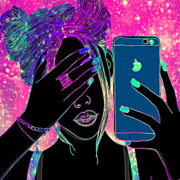 freetoedit glitter sparkle galaxy selfies