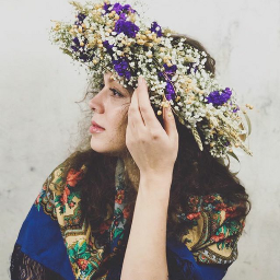 flowercrown flowers girl freetoedit