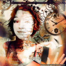 freetoedit steampunk clock arms hands