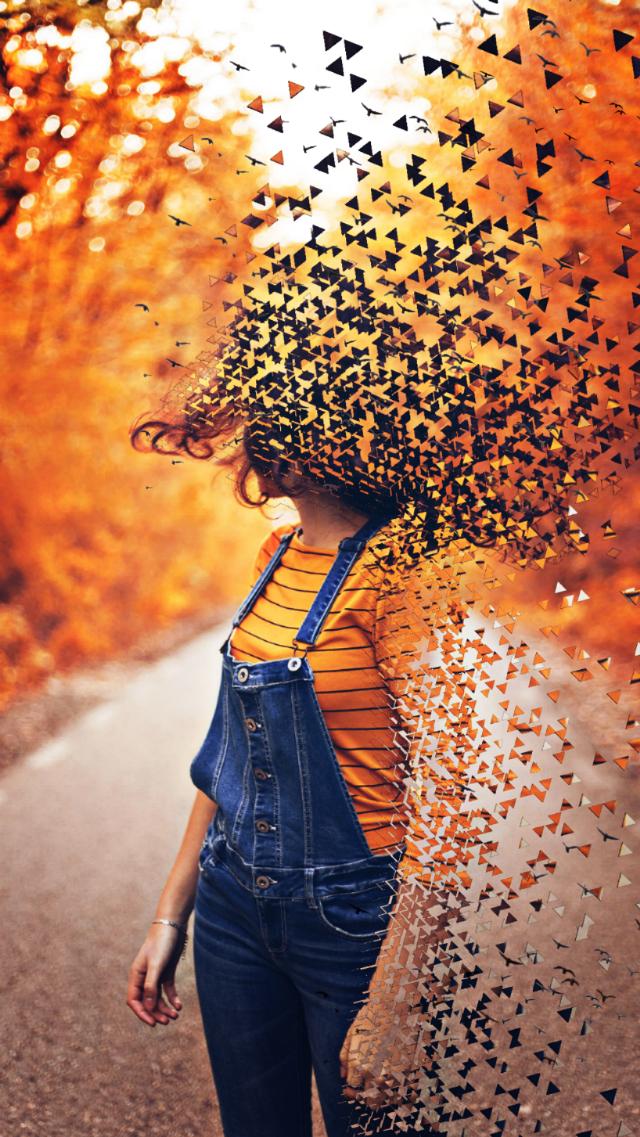 Pumpkin Spice and everything nice 🎃☕️🤯 #IDontFeelSoGood Edit by @puzzlejigsaw #dispersion #fall #falledit #freetoedit
