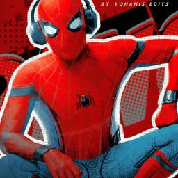 freetoedit spiderman tomholland spidermanhomecoming tomhollandedit