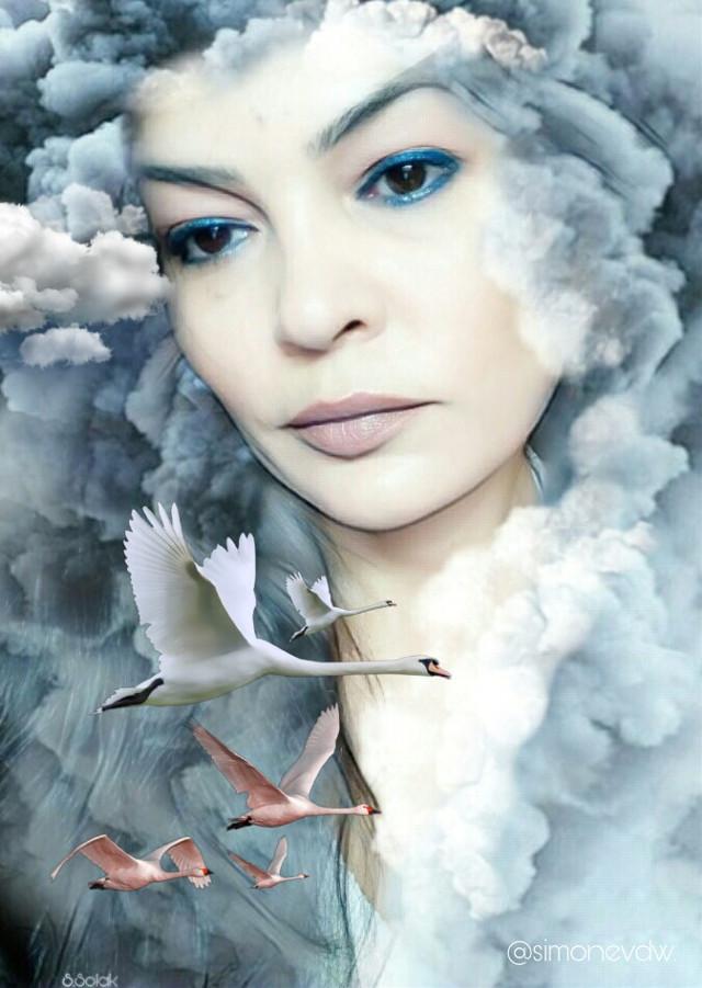 #freetoedit #editbyme #doubleexposure #artisticselfie #clouds #photomanipulation #art #artwork #imagination #madewithpicsart @sevcanss1905
