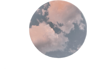 freetoedit circle clouds aesthetic sticker