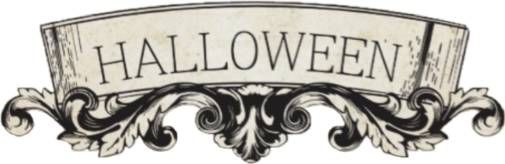 freetoedit label halloween textbook ornate