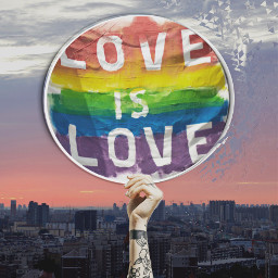 loveislove loveoneanother freetoedit