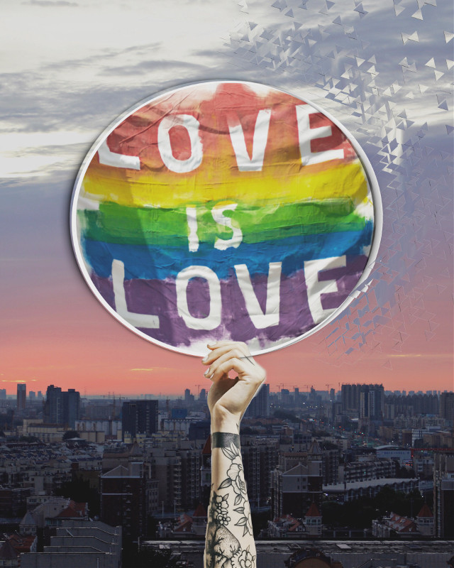 #loveislove #loveoneanother #freetoedit