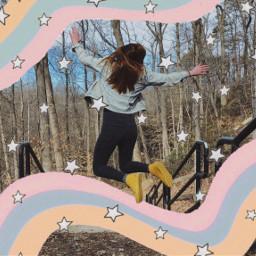 stars starry paintbrush paintstroke paintremix freetoedit