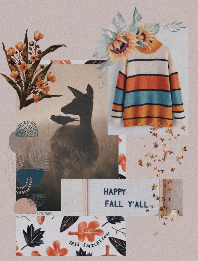 #freetoedit #fall #september #sweater #flowers #leaves #happyfall #happyfallyall #autumn