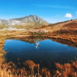 france hautesavoie altitude mountain autumn