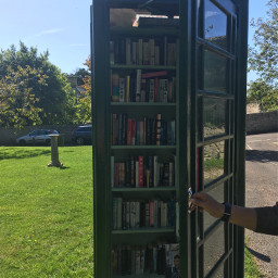 books telephone telephonebox library librarybooks freetoedit