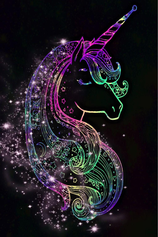 freetoedit @mpink88 glitter sparkle galaxy unicorn star...