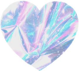 holographic heart freetoedit