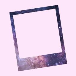 polaroid galaxy background backgrounds freetoedit