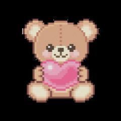 teddylove love pink retro aestetic freetoedit